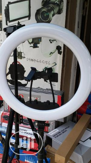18 Inches Ring Light With 2 Phone Holders   Accessories for Mobile Phones & Tablets for sale in Lagos State, Ikeja