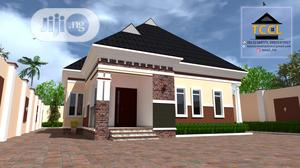 Three Bedroom Bungalow Design | Building & Trades Services for sale in Edo State, Benin City