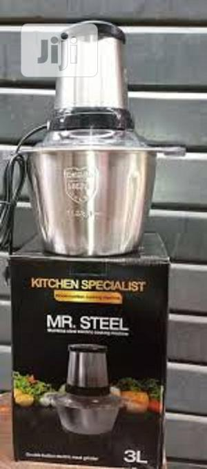 Mr Steel Yam Pounder and Meat Mincer | Kitchen Appliances for sale in Lagos State, Surulere