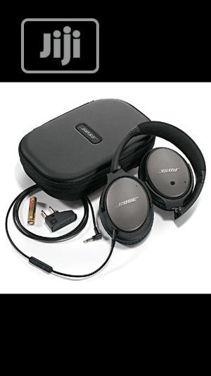 Bose Quietcomfort 15 Acoustic Noise Cancelling Headphones | Headphones for sale in Lagos State, Ikeja