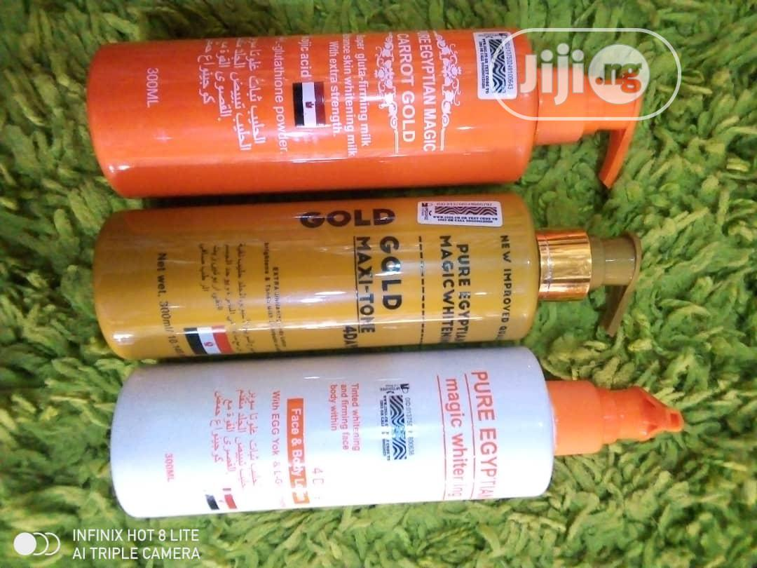 Pure Egyptian Magic Whitening , Carrot Gold, Creame