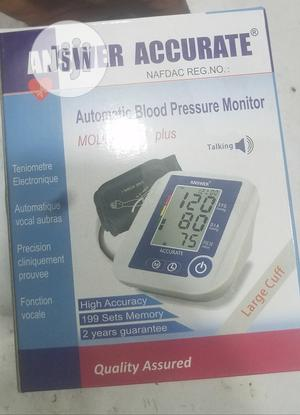 Accurate Answer Automatic Blood Pressure Monitor   Medical Supplies & Equipment for sale in Lagos State, Ojo