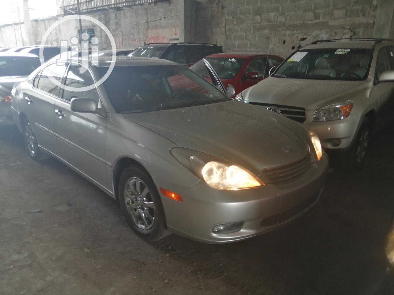 Lexus ES 2002 300 Silver