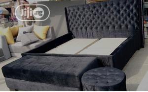 Modern 6 by 6 Bed Frame | Furniture for sale in Lagos State, Lekki