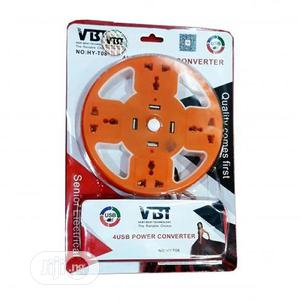 VBT 4 Port Extension Power Converter + 4 USB Port   Accessories & Supplies for Electronics for sale in Lagos State, Ikeja