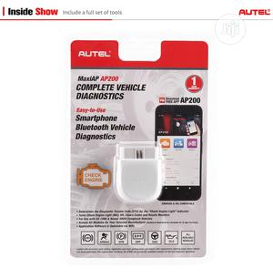Autel Maxi AP200 OBD2 + Full Software Unlock for ALL Cars   Vehicle Parts & Accessories for sale in Lagos State, Egbe Idimu