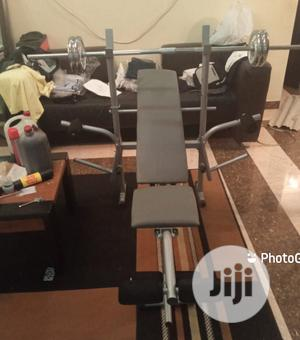 Weight Lifting Bench With Set of 50kg Dumbbell   Sports Equipment for sale in Lagos State, Victoria Island