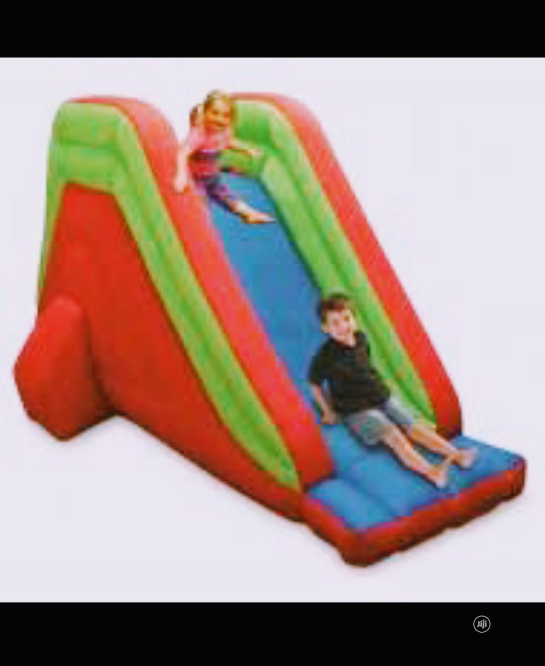 Bouncy Castle. Climb and Slide