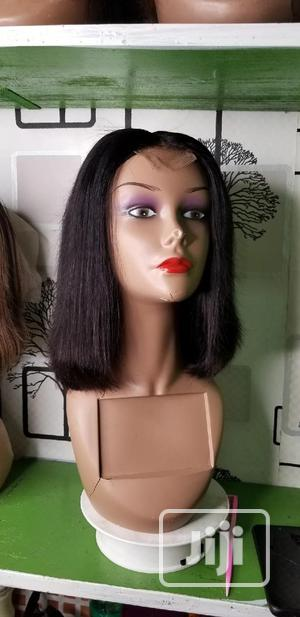 10inchs Double Drawn Wig | Hair Beauty for sale in Lagos State, Ojota