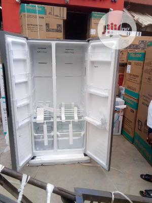 Hisense Side by Side Refrigerator | Kitchen Appliances for sale in Lagos State, Ojo