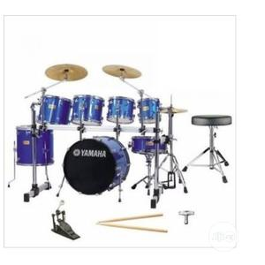 7set Yamaha Drum Set | Musical Instruments & Gear for sale in Lagos State, Ojo