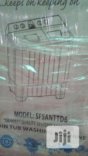 Scanfrost Twin Tub 6kg Washing Machine   Home Appliances for sale in Lagos State, Ojo