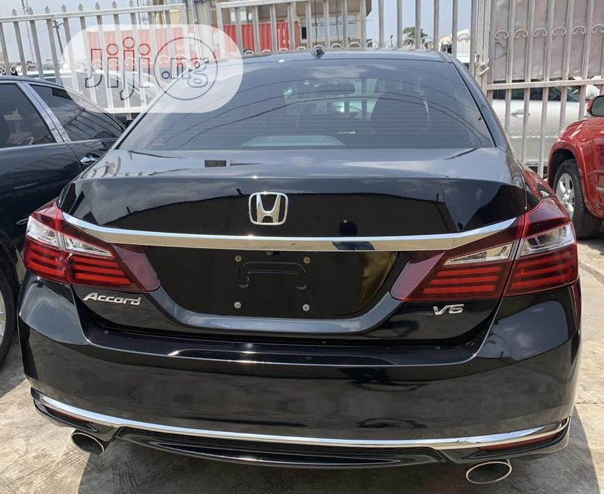 Honda Accord 2017 Black