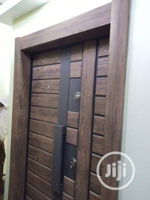 4ft Wooden Finished Luxury Door Available   Doors for sale in Lagos State, Orile