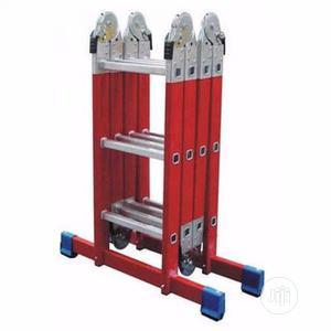 4X4 Fiberglass Multipurpose Ladder -16ft Jy14 | Hand Tools for sale in Lagos State, Alimosho