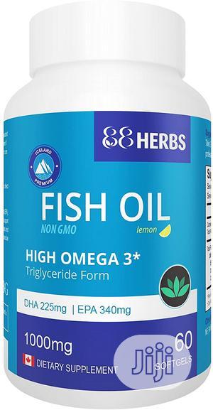 Premium Fish Oil | High Omega 3 | Non GMO | Vitamins & Supplements for sale in Lagos State, Ojo