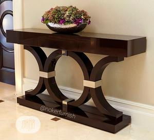 Brown Console Table 🌹 | Furniture for sale in Lagos State, Lekki