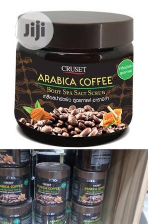 Cruset Arabica Coffee Body Spa Salt Scrub   Skin Care for sale in Lagos State, Amuwo-Odofin