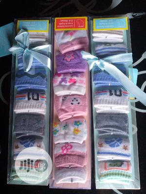 7 in One Baby Socks   Children's Clothing for sale in Lagos State, Agege