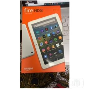 New Amazon Fire HD 8 32 GB White   Tablets for sale in Lagos State, Ikeja
