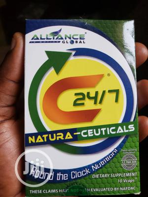 C 24/7 NATURA-CEUTICALS (10 Capsules) | Vitamins & Supplements for sale in Oyo State, Ibadan