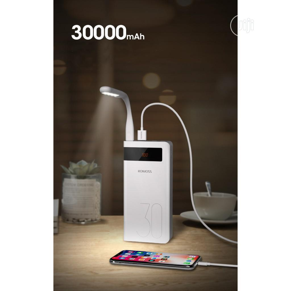 Romoss Power Bank 30000mah Sence 8p Plus