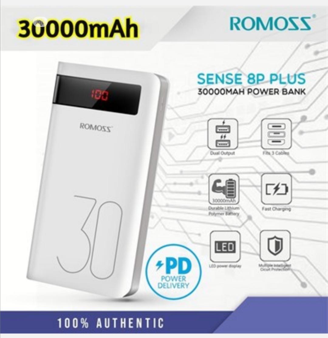 30000mah Romoss Power Bank Sence 8p Plus