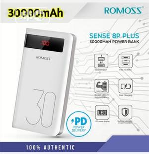 30000mah Romoss Power Bank Sence 8p Plus | Accessories for Mobile Phones & Tablets for sale in Lagos State, Ikeja