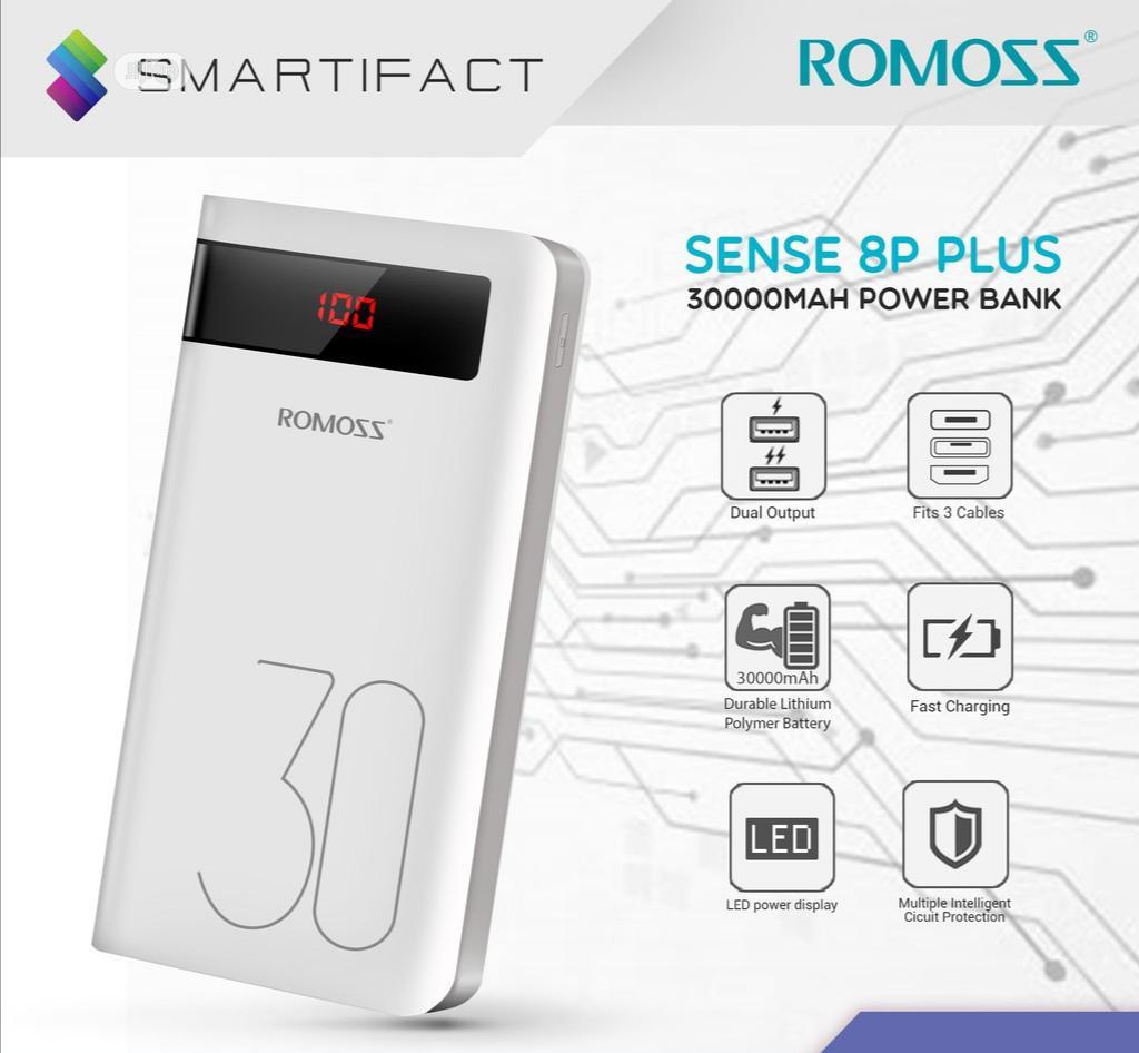 Sence 8p Plus Romoss 30000mah Power Bank
