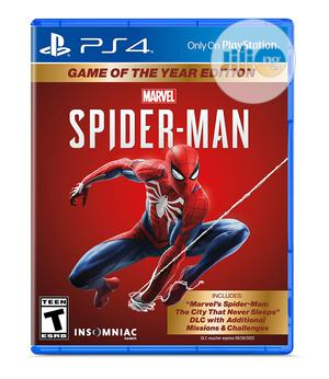 Marvel's Spider-man: Game Of The Year Edition - Playstation | Video Games for sale in Lagos State, Ikeja