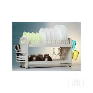 New Rustless 2 Tier Plastic Dish Drainer And Plate Rack   Kitchen & Dining for sale in Lagos State, Lagos Island (Eko)
