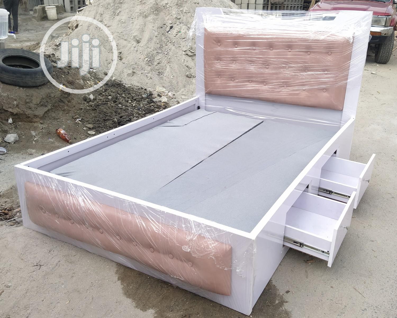 41/2 by 6ft Modern Bedframe