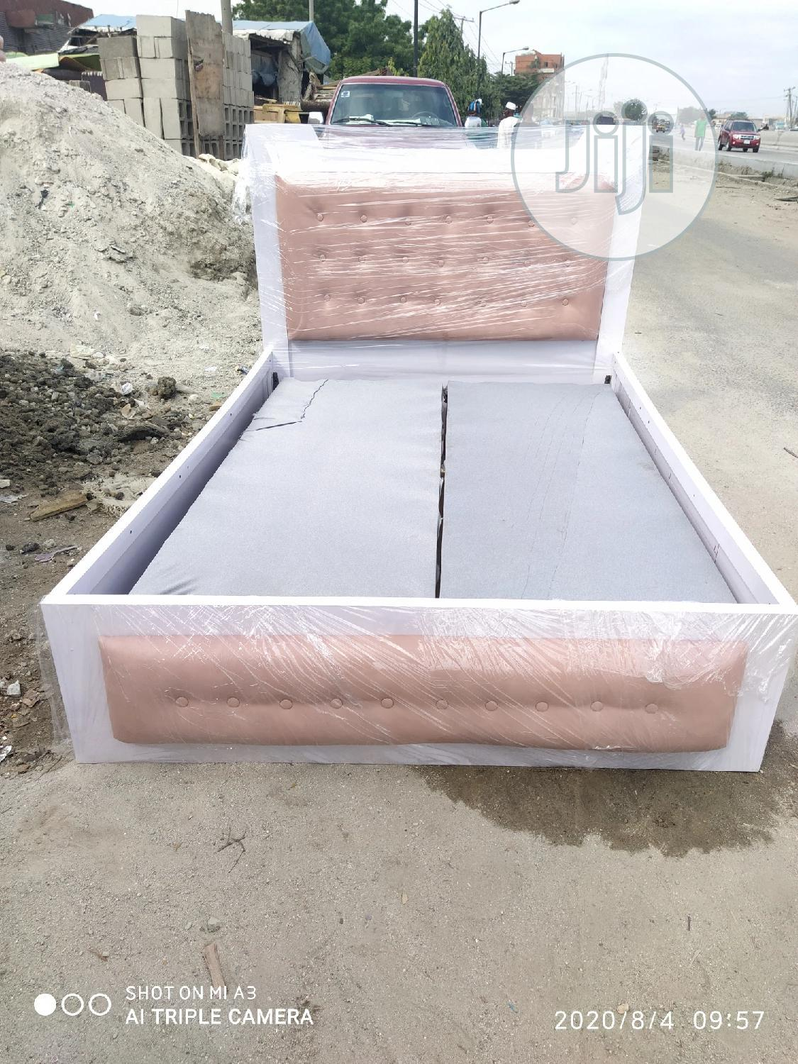 41/2 by 6ft Modern Bedframe | Furniture for sale in Isolo, Lagos State, Nigeria