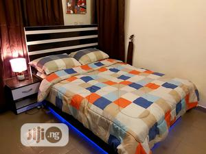 41/2*6ft Modern Bedframe With Led Light | Furniture for sale in Lagos State, Isolo