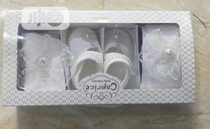 Caprice Baby Shoe,Hair Bond And Pop Socks   Children's Shoes for sale in Lagos State, Amuwo-Odofin