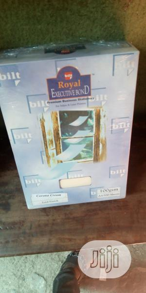 Royal Executive Imported Letter Head Paper Cream,White,Blu | Stationery for sale in Lagos State, Lagos Island (Eko)
