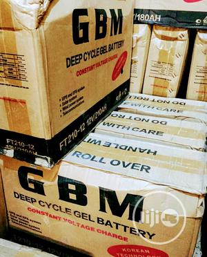 12v 210ah Gbm Battery Available | Solar Energy for sale in Lagos State, Ojo