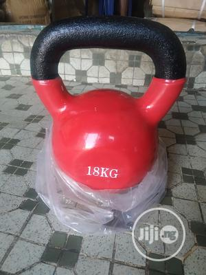 Colored 18kg Kettlebell | Sports Equipment for sale in Lagos State, Surulere