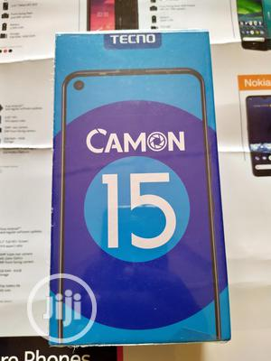 New Tecno Camon 15 64 GB Black | Mobile Phones for sale in Lagos State, Alimosho