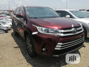 Toyota Highlander 2018 Red   Cars for sale in Lagos State, Apapa