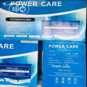 12v 200ah Power Care Battery Available Now In | Solar Energy for sale in Lagos State, Ojo