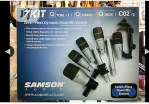 7 Set Drum Microphone | Musical Instruments & Gear for sale in Lagos State, Ajah