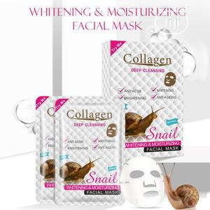 Snail And Collagen Facial Mask (Wholesale Price [MOQ = 10pcs | Skin Care for sale in Lagos State, Surulere