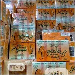 Pure Herbal Papaya Fruity Soap   Bath & Body for sale in Lagos State, Lagos Island (Eko)