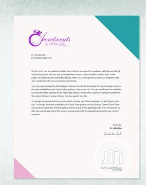Letter Head Print | Printing Services for sale in Lagos State, Shomolu