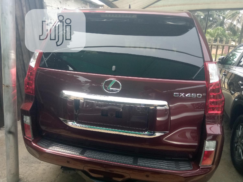 Lexus GX 2012 460 Red