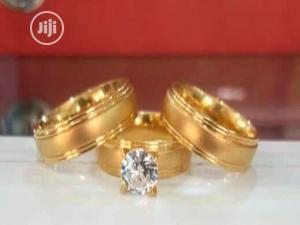Italian Gold Wedding Ring Set | Wedding Wear & Accessories for sale in Lagos State, Surulere
