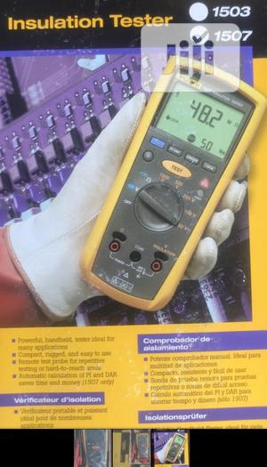 Obi-ng Fluke 1507 Insulation Tester | Measuring & Layout Tools for sale in Lagos State, Lekki