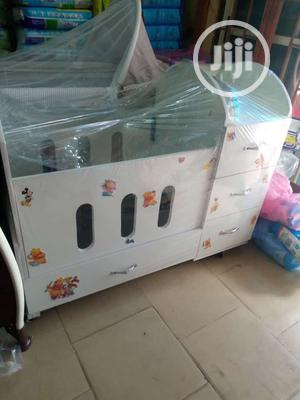 Wooden Baby Bed With Wardrobes   Children's Furniture for sale in Lagos State, Agege