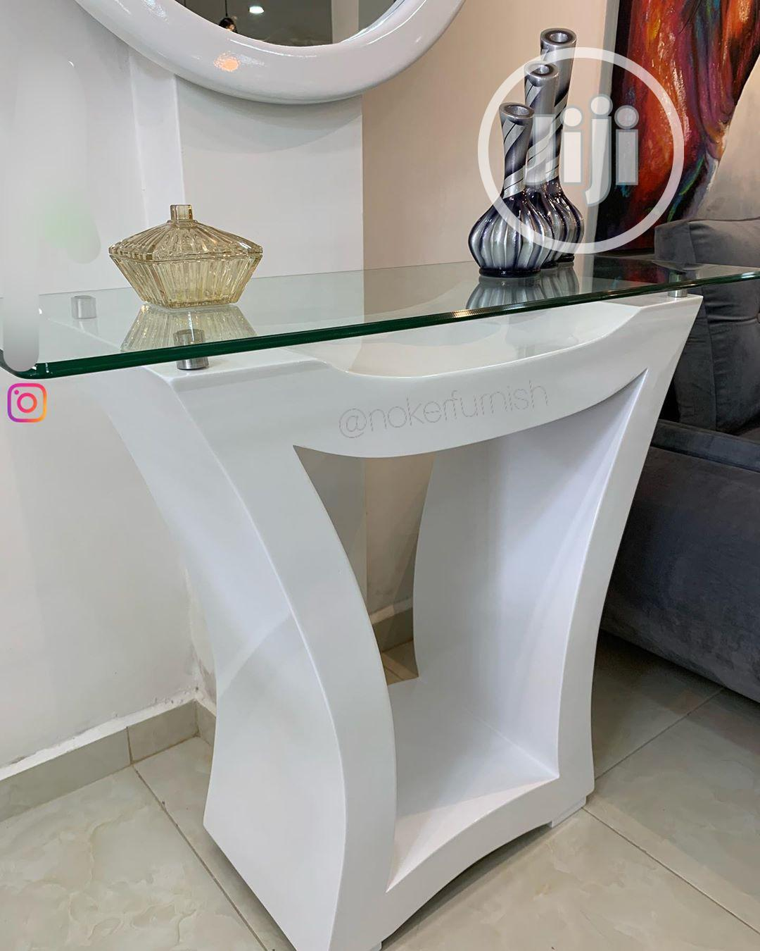 Govalex Console Table With Round Mirror   Home Accessories for sale in Ajah, Lagos State, Nigeria